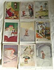 Vintage Comic Postcards Signed T Gilson (Your Choice)