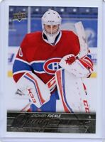 15/16 UPPER DECK YOUNG GUNS ROOKIE RC #461 ZACHARY FUCALE CANADIENS *45199
