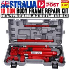 AU 10 Ton Porta Power Kit - Hydraulic Panel Beating Body Frame Repair Tool Heavy