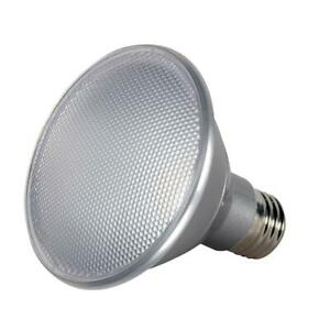 Satco LED 13W PAR30 S9414 Short Neck Dimmable Indoor Outdoor 5000K 25 Degree