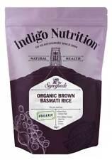 Indigo Herbs Organic Brown Basmati Rice 1kg