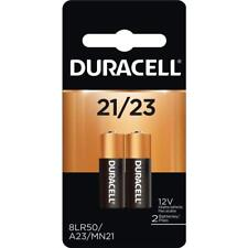 2 Pack Duracell A23 23A, A23BP, GP23, MN21, 21/23 12V Alkaline Battery