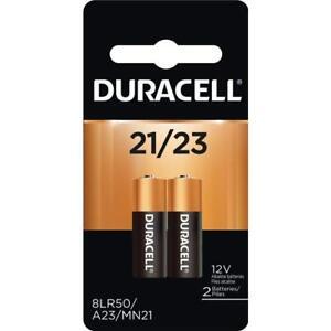 2 Pack Duracell A23 23A, A23BP, GP23, MN21, 21/23 12V Alkaline Battery