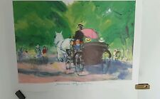 Johannes Meyer Andersen Carriage Ride in the Park  print