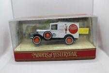 Matchbox Models of Yerteryear Y-22-I Ford Model A Van in Pratts Livery