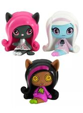 Monster High Minis Rag Doll Ghouls Clawdeen Wolf, a sparkling Candy Ghouls...