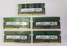 8GB PC4-2133 / 2400 Laptop Memory - SAMSUNG  *** LOT OF 5 ***