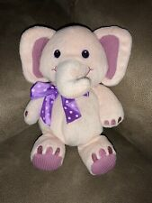 First And & Main Elephant Pink Plush Animal