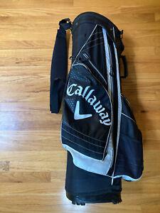Callaway XTT Xtreme Golf Bag 14 Way Divider Carry And Stand Golf Bag