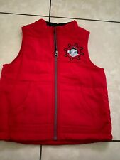 Disney Jr. Jake Neverland Pirates Puffy Winter Fall Vest Childs Boys 4T