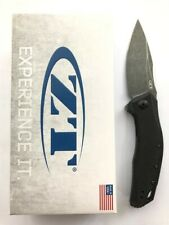 Zero Tolerance ZT 0357BW Folding Knife Blackwash 20CV Blade Black G-10 Handle