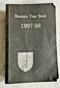 Masonic Year Book 1997 - 1998 Meetings of Grand Lodge.