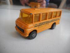Corgi Juniors Mercedes School Bus in Orange