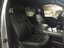 2015-2016 Ford F150 XLT Crew Super Crew Katzkin Leather Seat Kit NEW Black