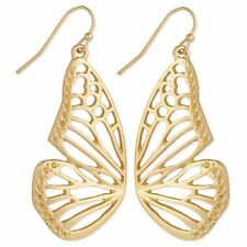 Gold-plated BUTTERFLY WINGS Earrings by Zad