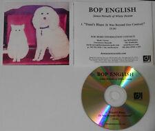 Bob English  Dani's Blues  U.S. promo cd  hard-to-find
