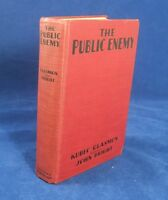 1931 THE PUBLIC ENEMY First Edition SIGNED INSCRIBED JAMES CAGNEY photoplay FINE