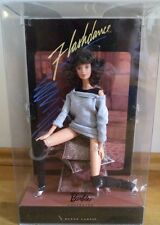 UK BARBIE COLLECTOR EDITION BLACK LABEL FLASHDANCE BARBIE DOLL NRFB VERY RARE!!!