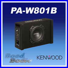 """Kenwood PA-W801B 8"""" Active Amplified Subwoofer In Ported Enclosure 400W Power"""