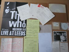 THE WHO Live At Leeds CD BOX SET NUMBERED # 8679 & INSERTS & POSTER MCAD-11230