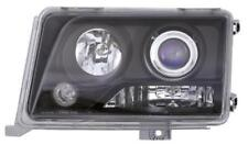 Projector Headlights LHD Clear Black Pair For Mercedes W124 05/93-06/95 - On