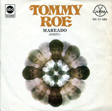 """Tommy Roe 7""""  Mareado (Dizzy)  (original Mexico EP, Gamma ABC 1969)"""