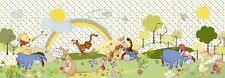 Wallpaper for children's bedroom panoramic wall mural Winnie Poohs decoration
