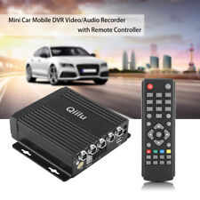 Realtime SD Car Mobile DVR Recorder 4CH 4 Channel Video/Audio Input Universal DY