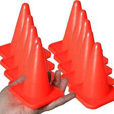 New 10 Pack 4 inch Orange Cones for RC Racing Traffic Cones