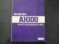 Suzuki AH 100   Wartungsanleitung