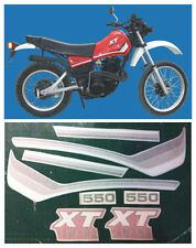 Yamaha XT 550 1982 mod. rosso