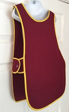 Wholesale Job Lot 5 Brand New Burgundy Kids Tabards Aprons Yellow Clothes Craft