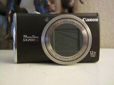 Canon PowerShot PowerShot SX200 IS 12.1MP Digital Camera - Black