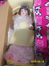 "Janis Berard All Porcelain Doll ""Casey"" Le 079/300 With Coa Nib"