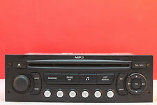 PEUGEOT 207 307 807 EXPERT CITROEN C2 C3 C4 BERLINGO CD RADIO PLAYER MP3 RD4