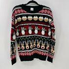 New York laundry holiday classics ugly Christmas sweater sz S
