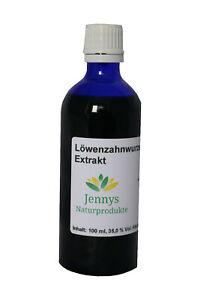 Löwenzahnwurzel - Extrakt flüssig - in schöner Blauglasflasche - aus Deutschland