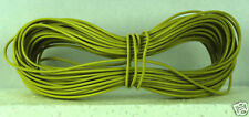 Model Railway/Railroad Layout/Point Motor Wire 1x10m Roll 7/0.2mm 1.4A Yellow