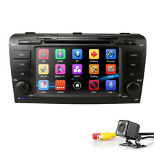 """7"""" Car DVD GPS Navigation Stereo Head Unit Radio For Mazda 3 CANBUS Support Bose"""