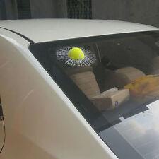 Auto 3D Crazy Tennis Ball Hit Windowa/Body Creative Sticker Windshield Decal TSM