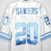 Barry Sanders Football Jersey Detroit Lions Mitchell & Ness Throwbacks 1996 52