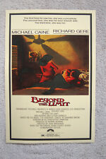 Beyond the limit Lobby Card Movie Poster Richard Gere
