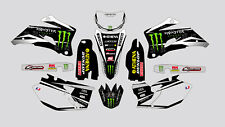 MONSTER YAMAHA WR 250 F 2007-2014 WR 450 F 2007-2011 DECAL STICKER GRAPHIC KIT
