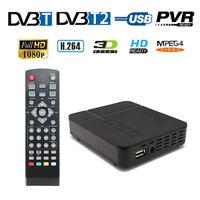 HD MPEG4 DVB T2 Tuner TV Box 1080P Digital DVB T T2 Receptor H.264 FTA Receiver