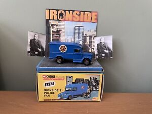 CORGI 1007 WHIZZWHEELS IRONSIDE TRUCK WITH FIGURES Excellent With Code 3 Box