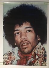 Jimi Hendrix Vintage Original Poster Headshop Color Photo Style Headshot Afro