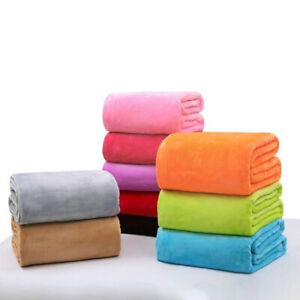 100*70cm Newborn Baby Blan Flannel Fleece Infant  Bedding Blankets Stroller .bu
