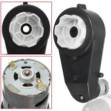 12V 23000 RPM Electric Motor Gear Box For Kids Ride On Car Toy Spare Parts DSUK