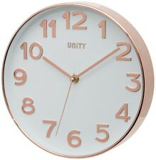 Unity Bakewell Wall Clock Rose Gold 25 X X 3 Cm