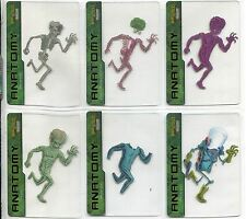 Mars Attacks Invasion Complete Anatomy Of A Martian Chase Card Set 1-6